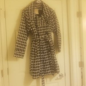 Womens short trench coat